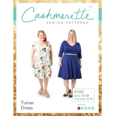 Cashmerette Sewing Patterns -  Turner Dress Dressmaking Pattern