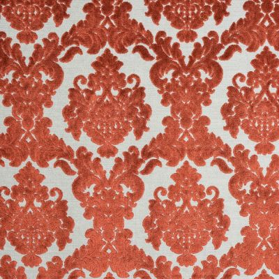 Porter & Stone - Tuscania - Burnt Orange - Curtain Fabric