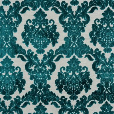 Porter & Stone - Tuscania - Teal - Curtain Fabric