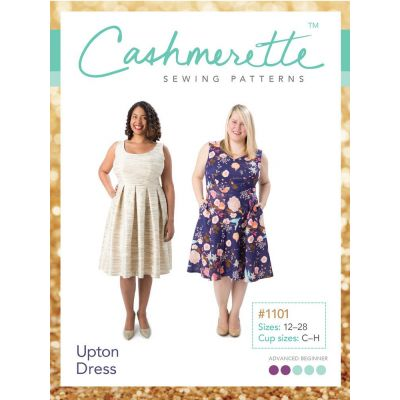 Cashmerette Sewing Patterns -  Upton Dress Dressmaking Pattern