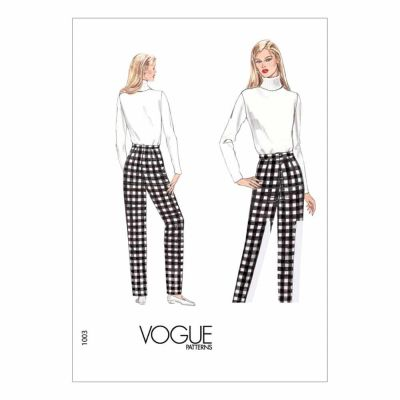 Vogue Sewing Pattern V1003 Misses' Fitting Shell