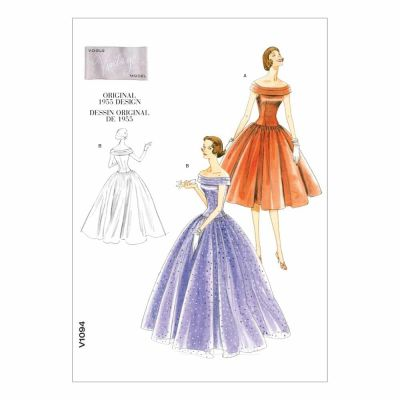 Vogue Sewing Pattern V1094 Misses' Dress