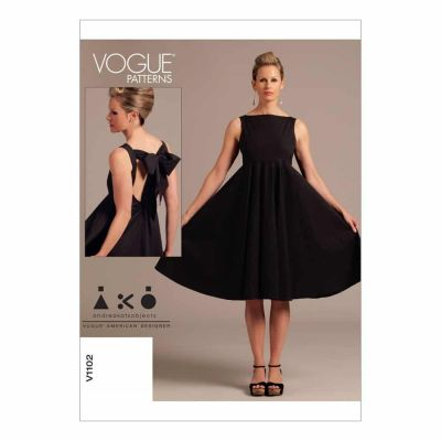 Vogue Sewing Pattern V1102 Misses' Dress