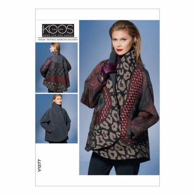 Vogue Sewing Pattern V1277 Misses' Reversible Jacket