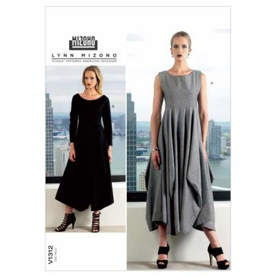 Vogue Sewing Pattern V1312 Misses' Dress