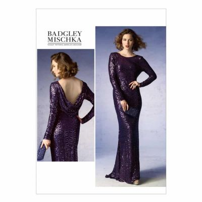 Vogue Sewing Pattern V1374 Misses' Dress