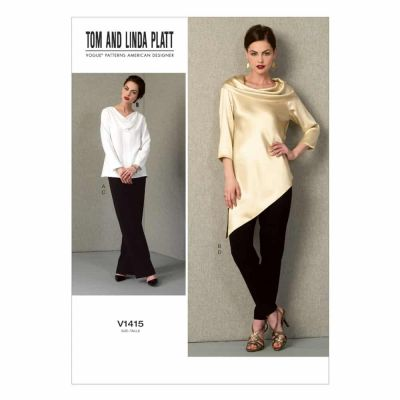 Vogue Sewing Pattern V1415 Misses' Tunic and Pants
