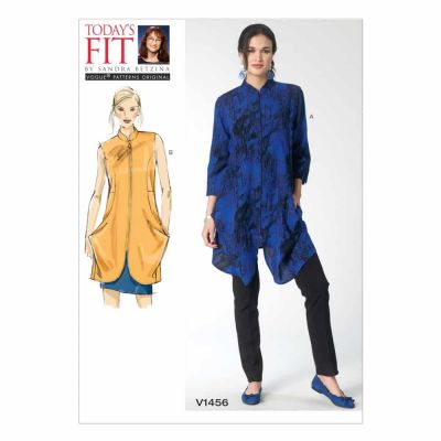 Vogue Sewing Pattern V1456 Misses' Tunic