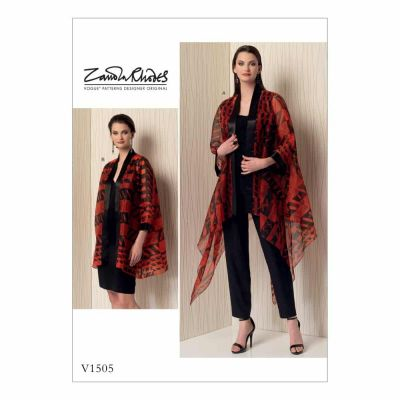 Vogue Sewing Pattern V1505 Misses' Kimono-Style Jackets