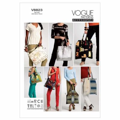Vogue Sewing Pattern V8823 Bags