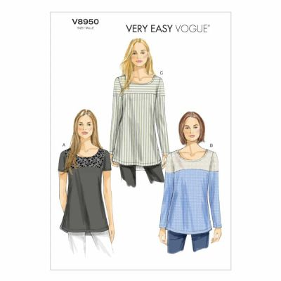 Vogue Sewing Pattern V8950 Misses' Tunic