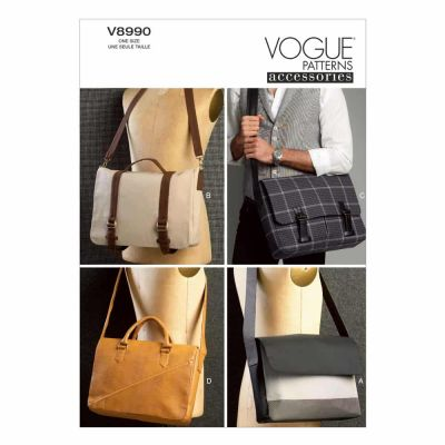 Vogue Sewing Pattern V8990 Bags
