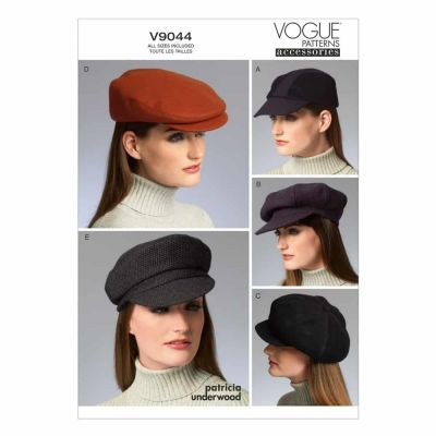 Vogue Sewing Pattern V9044 Hats