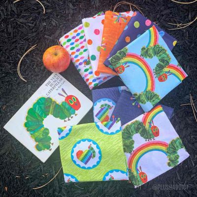 Andover - The Very Hungry Caterpillar - Fat Quarter Bundle - 7 Fabrics