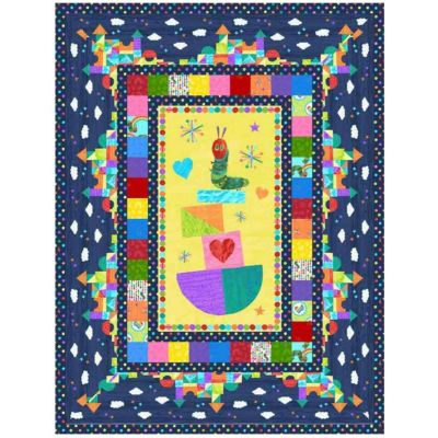 Andover - The Very Hungry Caterpillar - Quilt Pattern - Free Download