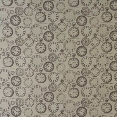Antique Timepieces - Curtain Fabric
