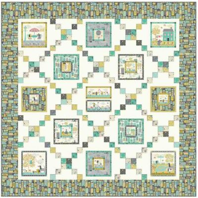 Makower - A Walk In The Park - Quilt Pattern - Free Instant Download