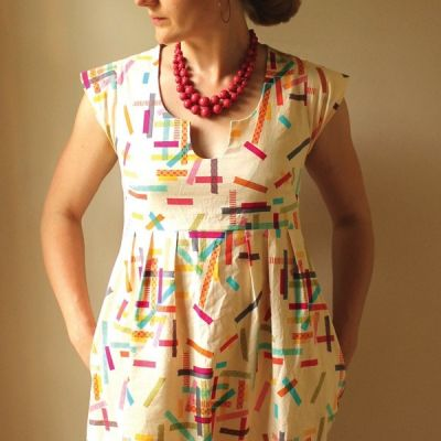 Made By Rae Sewing Patterns -  Washi Dress Dressmaking Pattern