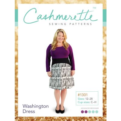 Cashmerette Sewing Patterns -  Washington Dress Dressmaking Pattern