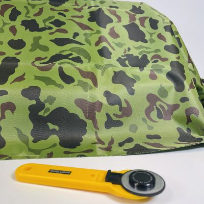 Waterproof Camouflage Fabric - Light Green Camouflage Traditional