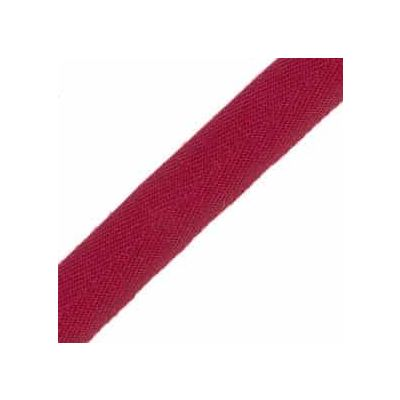 25mm Acrylic Herringbone Webbing Wine
