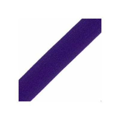 25mm Acrylic Herringbone Webbing Purple