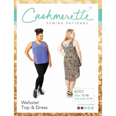 Cashmerette Sewing Patterns - Webster Top & Dress Dressmaking Pattern