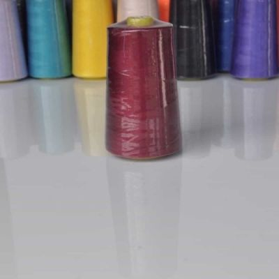 5000 yard polyester overlocker thread wine