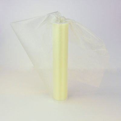 Ivory Sheer Organza 29cm Wide