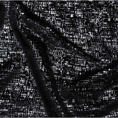 Zinc - Noir - Curtain Fabric