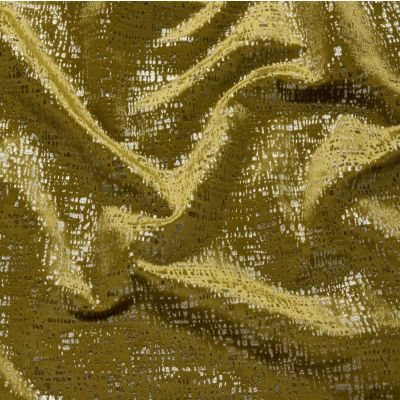 Zinc - Ochre - Curtain Fabric