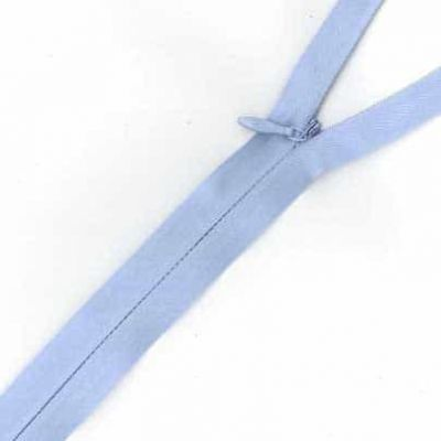 Concealed Zip Light Blue