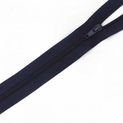 Close Ended Zip Navy