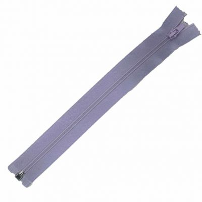 Nylon Open Ended Zip Lilac