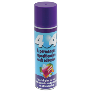ODIF 404 Permanent Repositionable Ruler Grip Spray 250ml