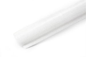 Remnant - Hemline Cotton Covered Polyester Boning 12mm Wide - White - 2m LENGTH