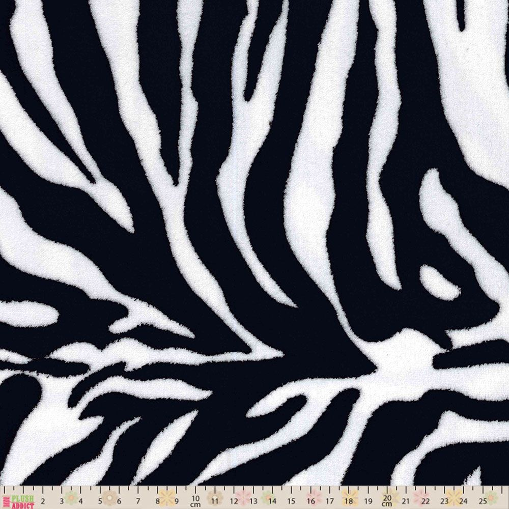 Cuddle Fleece - Zebra Print