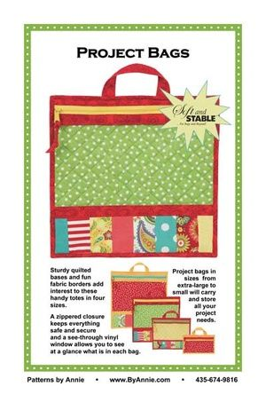 ByAnnie Sewing Pattern -  Project Bags Pattern