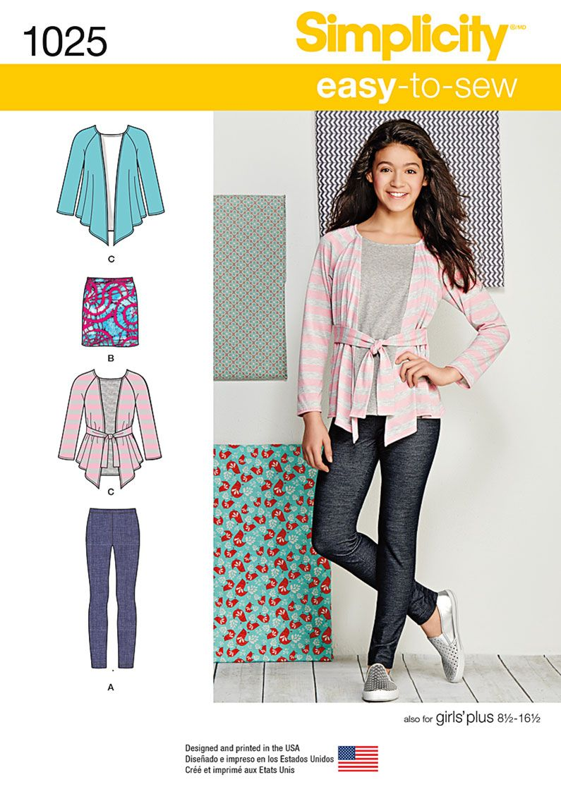 Remnant - Simplicity Pattern - 1025 - BB (chest 30in - 36in) - End of Line