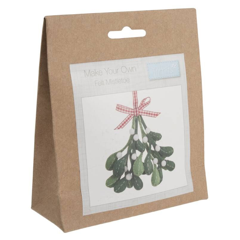 Trimits Felt Decoration Kit: Christmas: Mistletoe