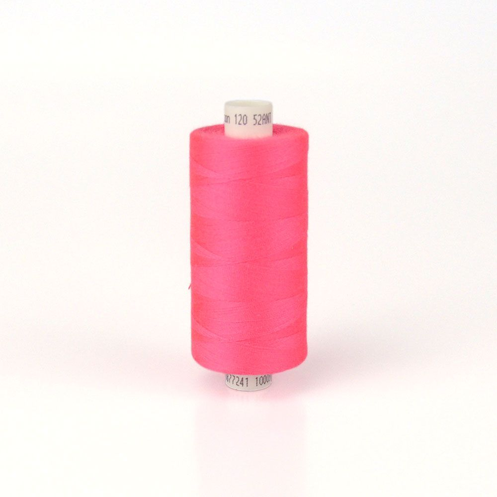 Moon 1000m Polyester Thread Flo Pink 52ANT