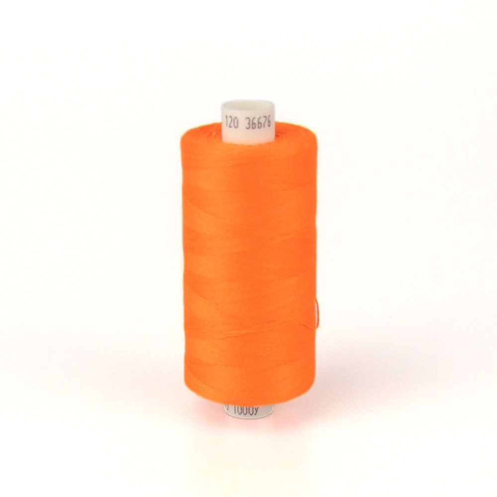 Moon 1000m Polyester Thread Flo Orange 36676