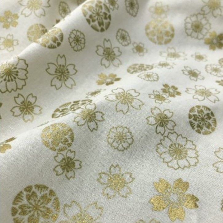 Japanese Import - Anan - Etched Floral On Ivory