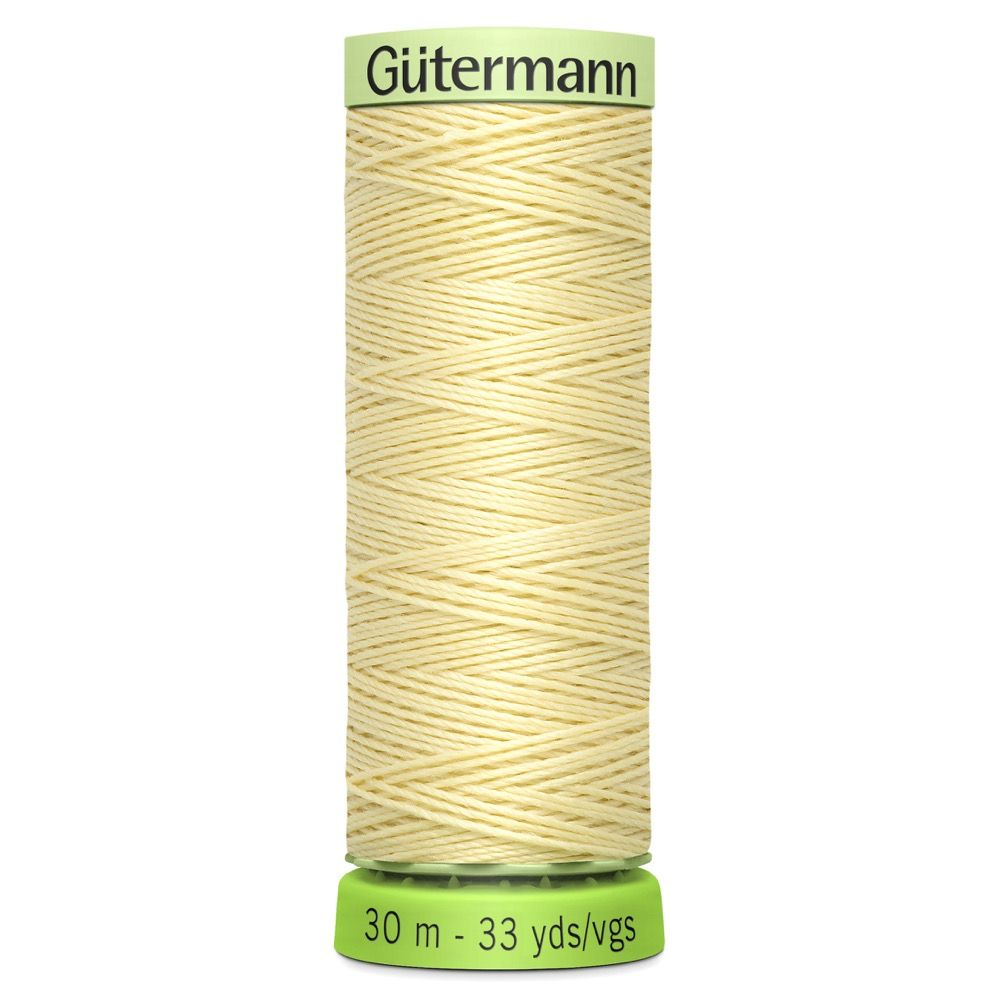 Gutermann Recycled Polyester Top Stitch Thread - 30m Strong Decorative Functional Sewing Thread - Colour 325