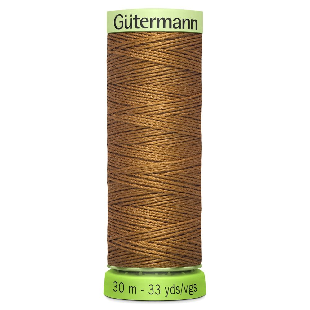 Gutermann Recycled Polyester Top Stitch Thread - 30m Strong Decorative Functional Sewing Thread - Colour 448