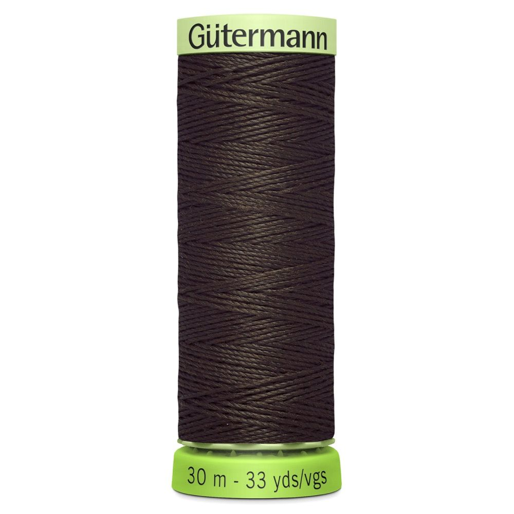 Gutermann Recycled Polyester Top Stitch Thread - 30m Strong Decorative Functional Sewing Thread - Colour 696