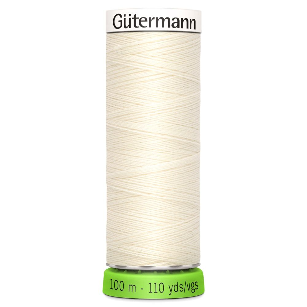 Gutermann Recycled Polyester Sew-All Thread - 100m General Purpose Sewing Thread - Colour 1