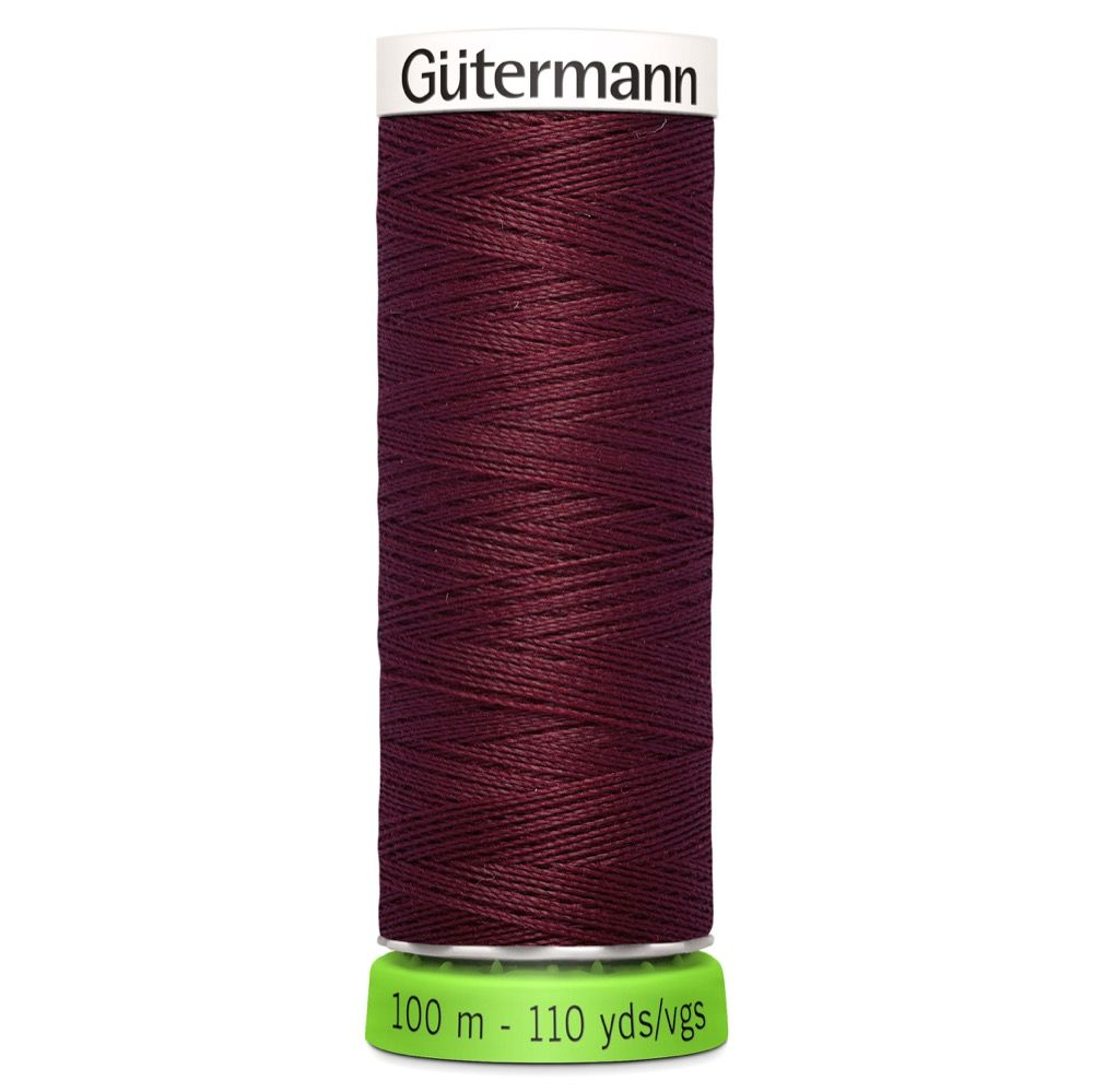 Gutermann Recycled Polyester Sew-All Thread - 100m General Purpose Sewing Thread - Colour 369