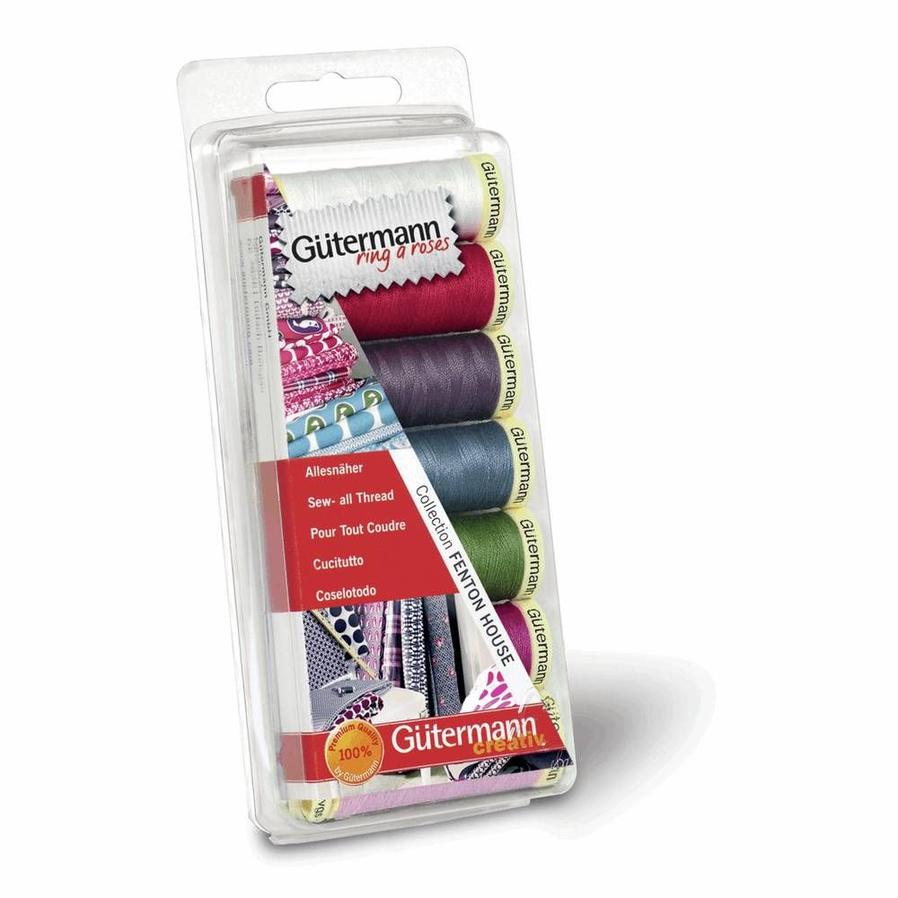 Gutermann 7 x 100m Sew-All Fenton House Thread Set 4