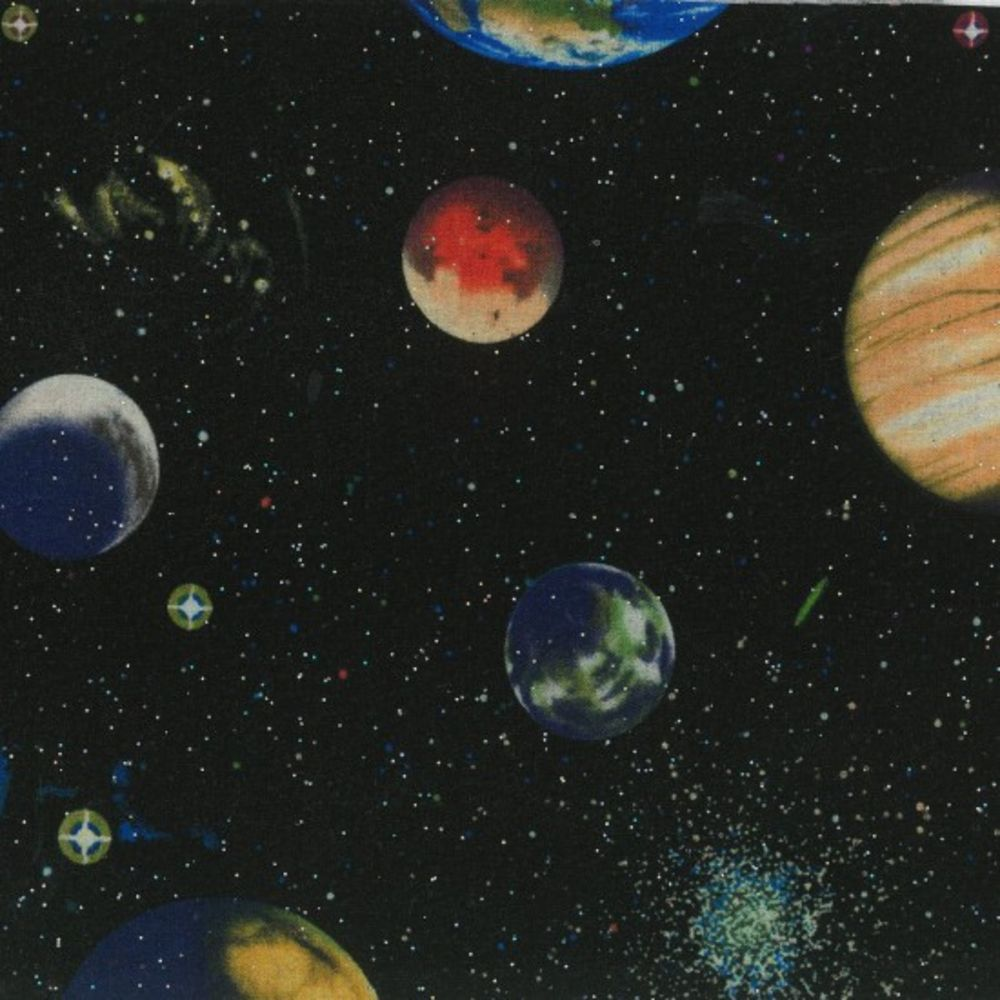 Nutex - Solar Sytsem - Planets With Glitter
